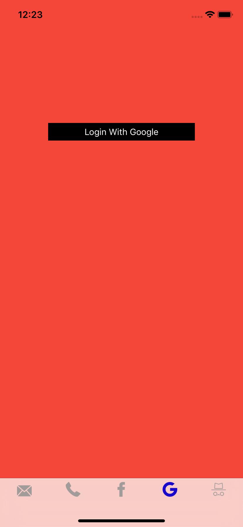 Firebase Auth Integration - iOS