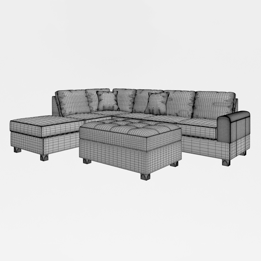 Amazing Russ Sectional With Ottoman Alphanode Cool Chair Designs And Ideas Alphanodeonline