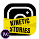 Kinetic Instagram Stories - VideoHive Item for Sale