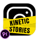 Kinetic Instagram Stories | MOGRT for Premiere Pro