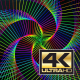 3 Psychedelic Trippy Radio Waves Loops - VideoHive Item for Sale