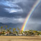 Rainbow during storm in Santa Barbara - PhotoDune Item for Sale