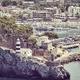 Retro toned picture of Port de Soller, Mallorca. - PhotoDune Item for Sale