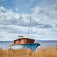 Landscape with a shipwreck and beautiful cloudscape. - PhotoDune Item for Sale
