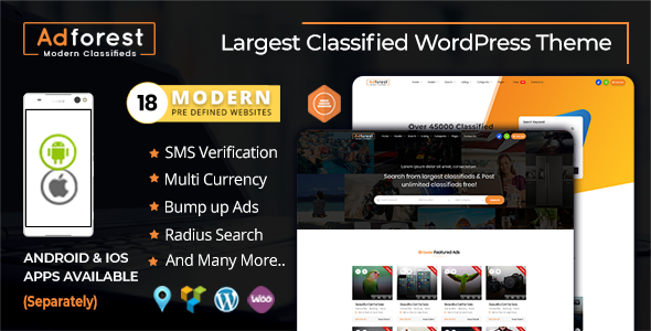 AdForest - Classified Ads WordPress Theme Free Download | Nulled