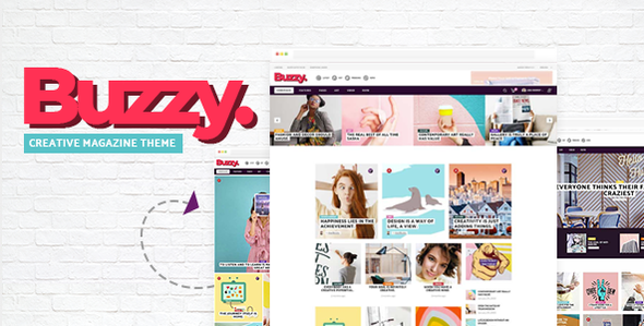 Buzzy – Creative Magazine Theme Free Download
