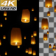 Sky Lanterns 4K - VideoHive Item for Sale