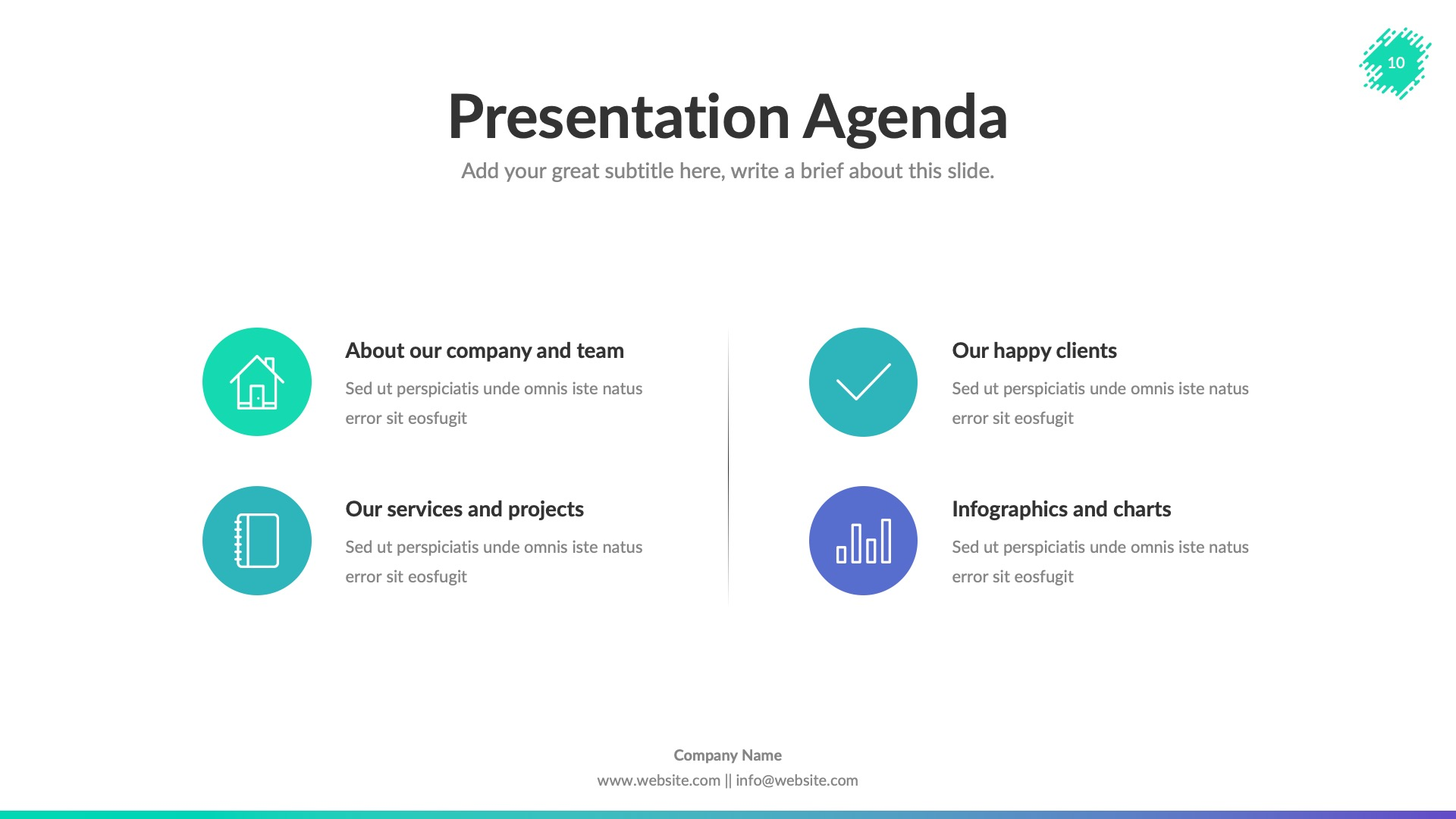 Creative Business Powerpoint Presentation Template By Spriteit Graphicriver