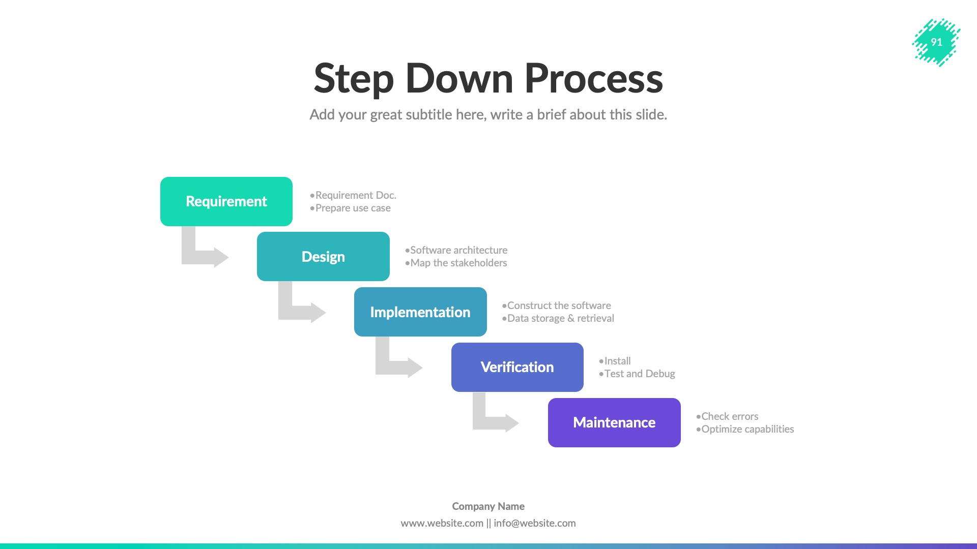 Creative Business PowerPoint Presentation Template