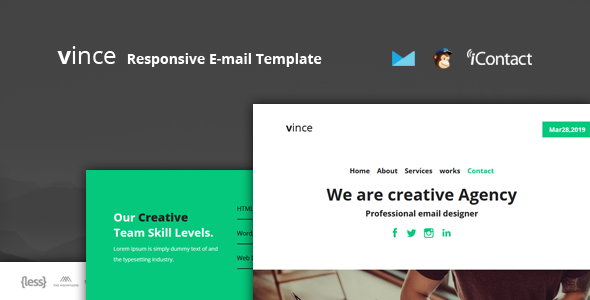 Vince Mail - Responsive E-mail Template