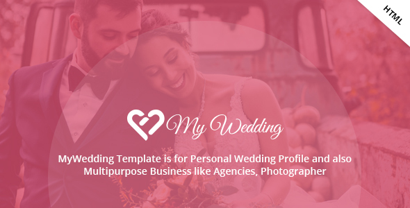 MyWedding - Responsive Wedding One Page Template