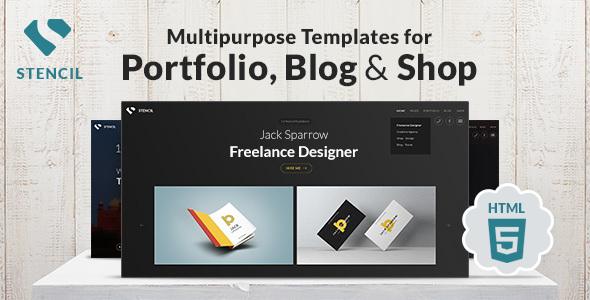 Stencil - Creative Multi-Purpose HTML Theme