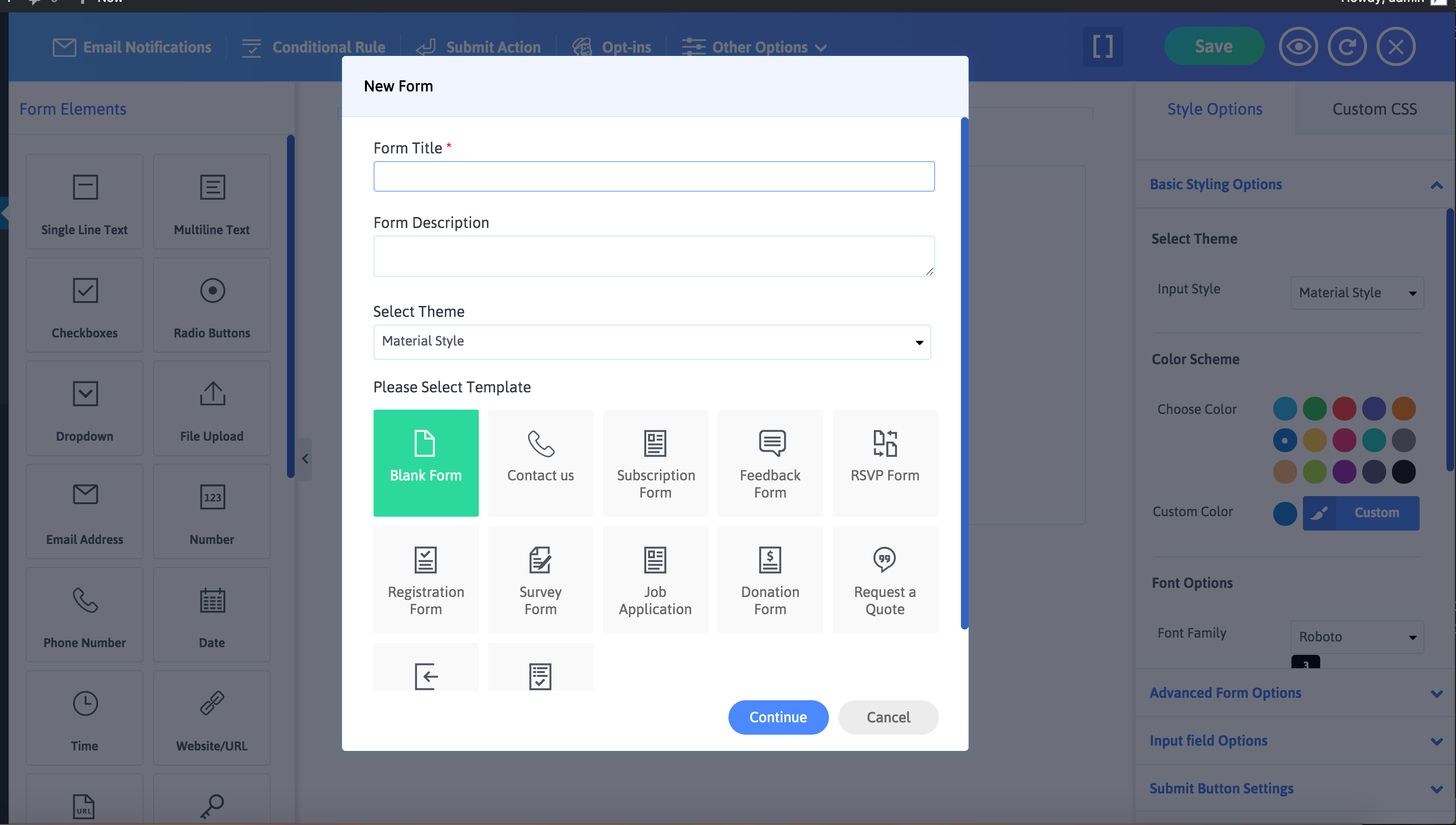 ARForms: Wordpress Form Builder Plugin