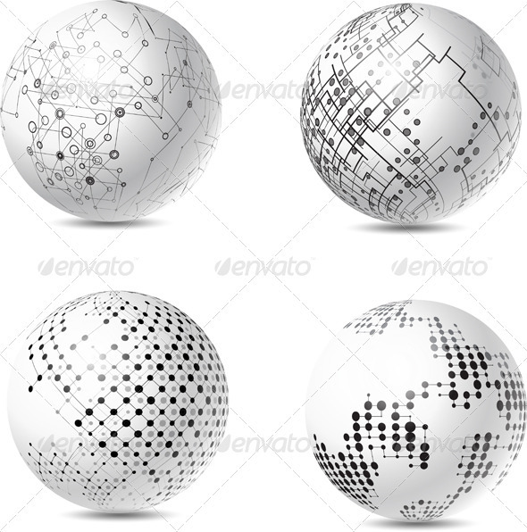 Abstract Spheres - Miscellaneous Characters