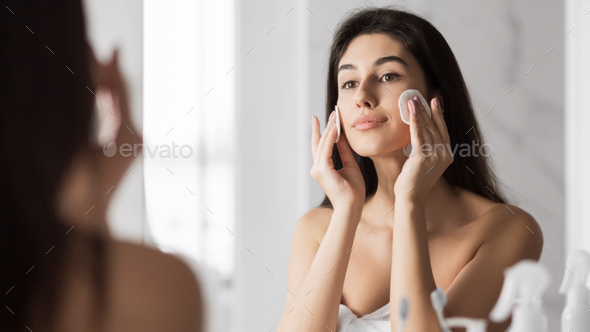 Pure healthy skin concept - Stock Photo - Images