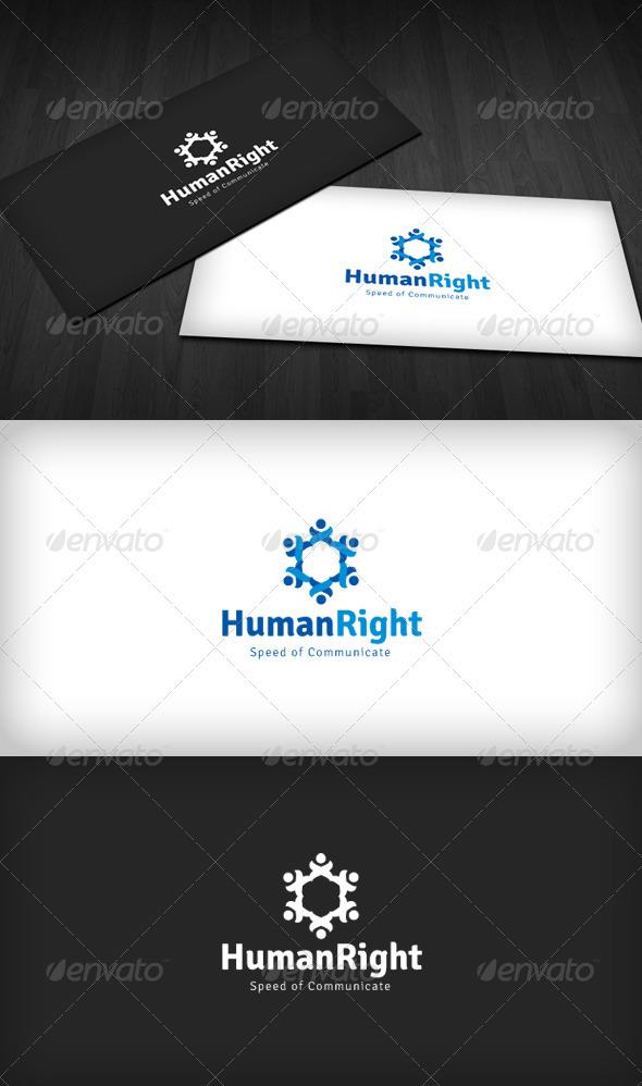 Human Right Logo - Humans Logo Templates