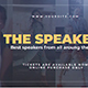 The Speakers - VideoHive Item for Sale