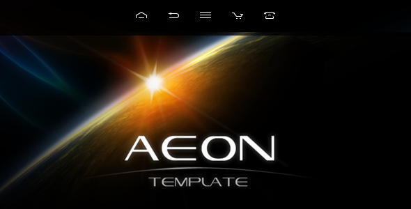 AEON Futuristic Template for Joomla!