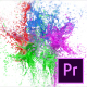 Splashing Paint Logo Reveal II – Premiere Pro - VideoHive Item for Sale