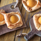Puff pastry with canned peaches - PhotoDune Item for Sale