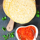 pancakes with salmon caviar - PhotoDune Item for Sale