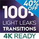 Light Leaks Transitions | For Premiere Pro - VideoHive Item for Sale