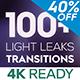 Light Leaks Transitions 4K - VideoHive Item for Sale