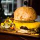 Burger with pumpkin sauce - PhotoDune Item for Sale