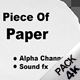 Piece of Paper - VideoHive Item for Sale