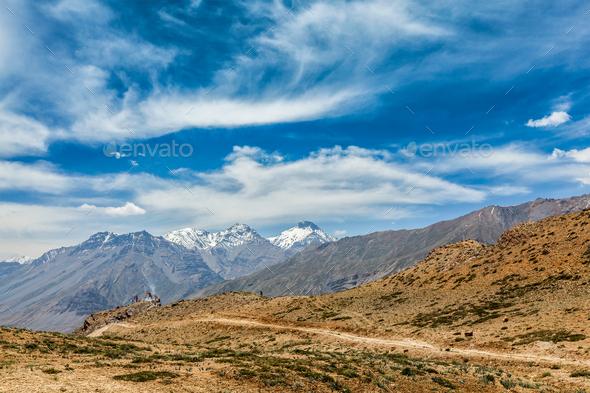 Himalayan landscape - Stock Photo - Images
