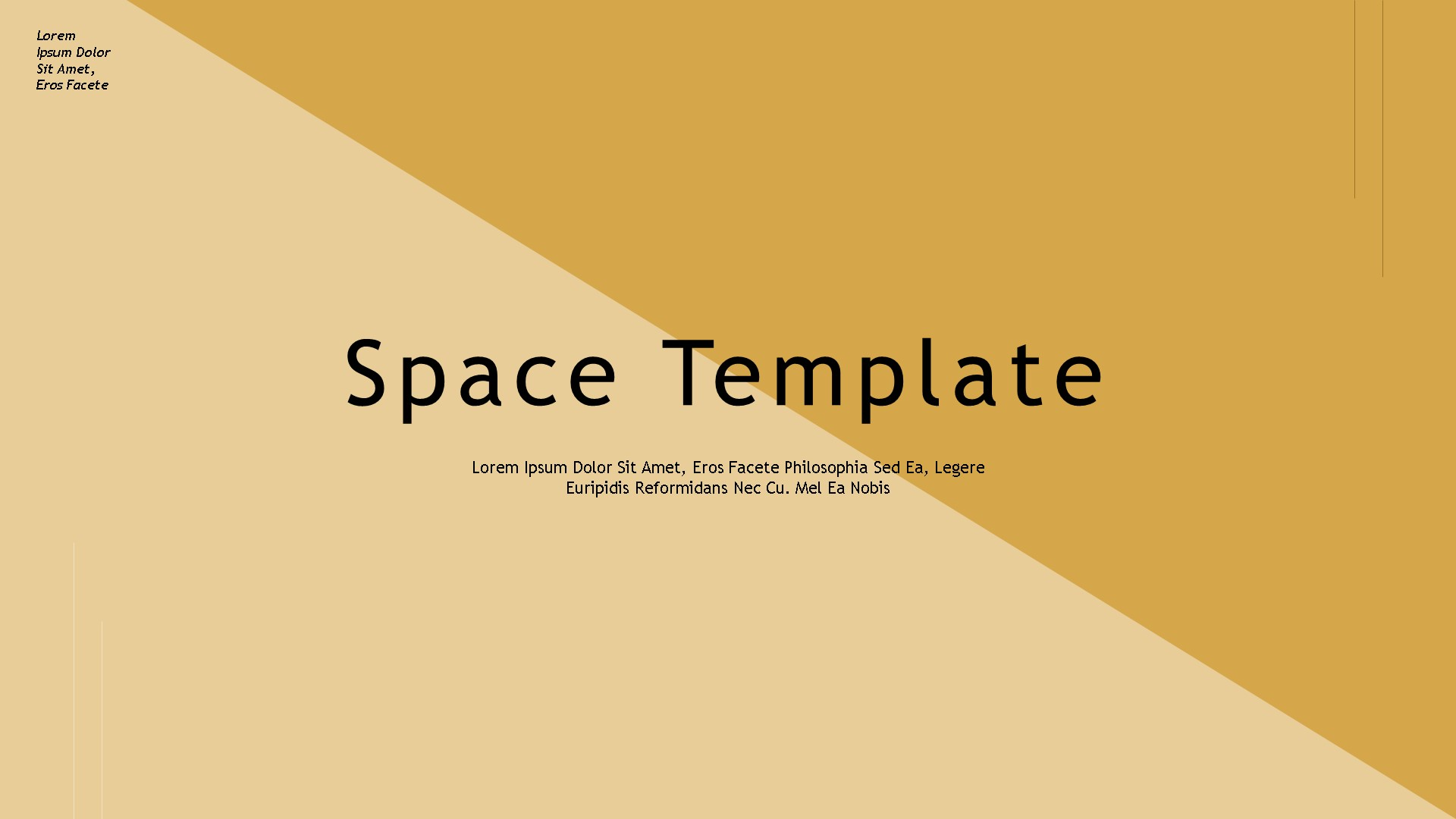 Space Pastel Color Powerpoint Template By Lakumedia Graphicriver