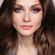Beautiful brunette woman with bright make up - PhotoDune Item for Sale