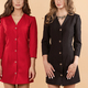 Two women in similar dresses with buttons - PhotoDune Item for Sale