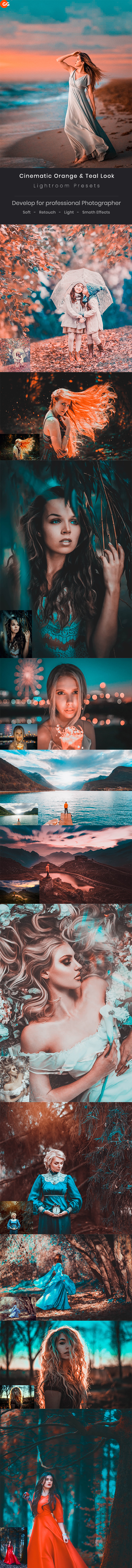 Cinematic Orange & Teal Look Lightroom Preset