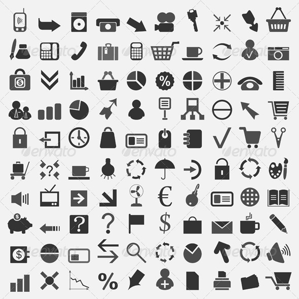 Office icons5 - Decorative Vectors