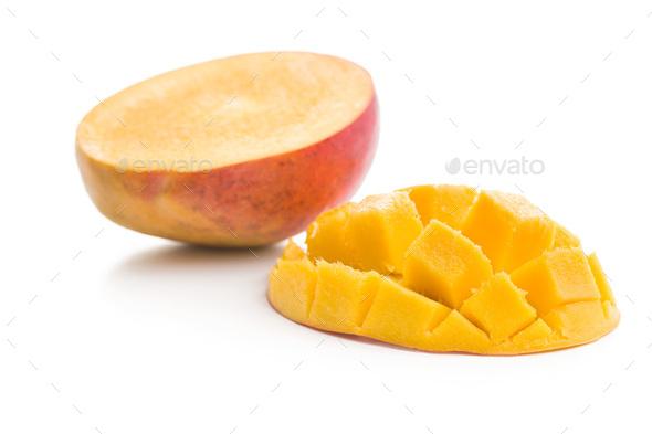 Ripe mango fruit - Stock Photo - Images