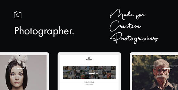 Download Photographer WordPress Theme Nulled
