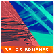 32 Stripes Trails Watercolor Photoshop Brushes - GraphicRiver Item for Sale