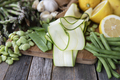 Zucchini Ribbons and Other Vegetables - PhotoDune Item for Sale