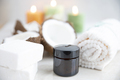 Coconut Soap and Jar of Lotion - PhotoDune Item for Sale
