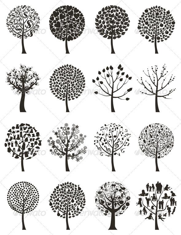 Wood Tree 7 - Flowers & Plants Nature