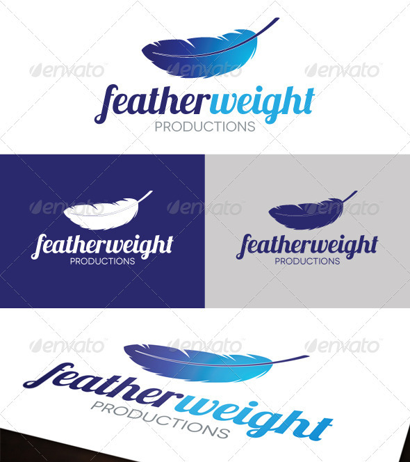 Featherweight Logo - Objects Logo Templates