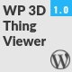 Free Download WP 3D Thingviewer Nulled
