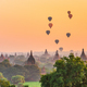 Bagan, Myanmar ancient temple ruins landscape in the archaeologi - PhotoDune Item for Sale