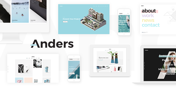 Download Anders – Clean Portfolio Theme nulled 00 preview