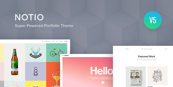 Notio – Creative Portfolio WordPress Theme Free Download