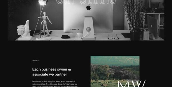 Notio WordPress theme for digital agencies