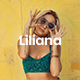 Liliana - Fashion Style Keynote Template - GraphicRiver Item for Sale
