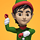 Dancing Christmas Elf - VideoHive Item for Sale