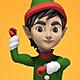 Dancing Christmas Elf - VideoHive Item for Sale